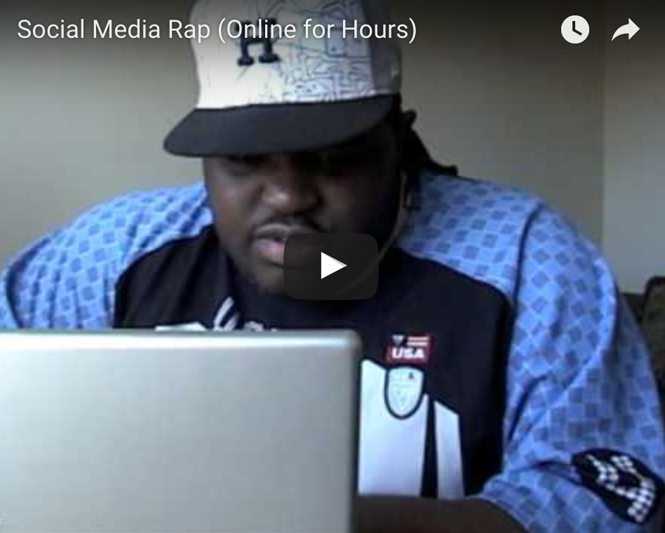 Online For Hours The SEO Rapper