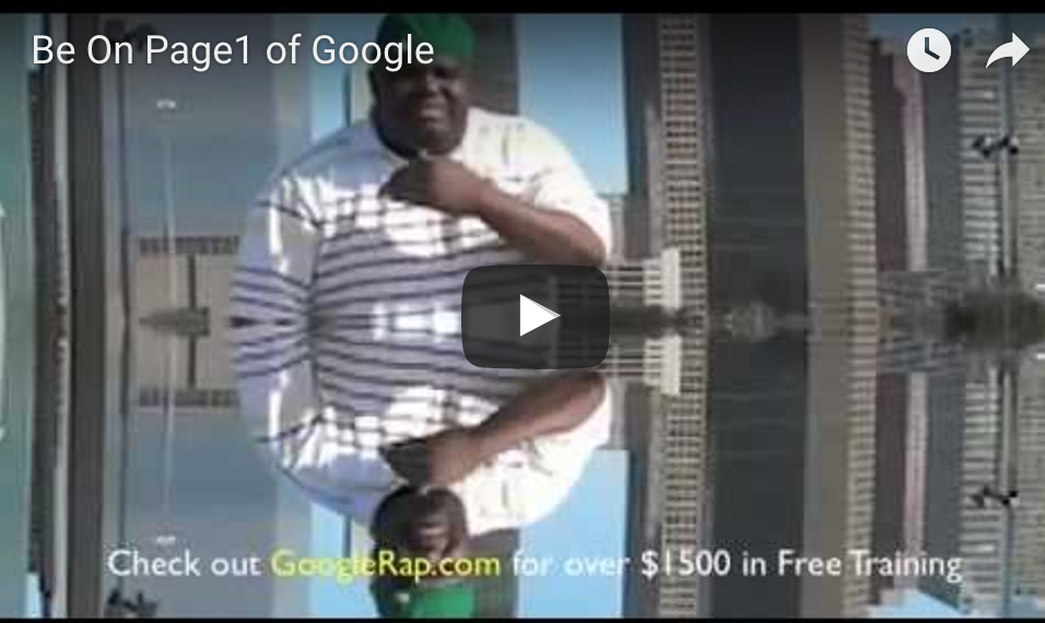 Page 1 of Google The SEO Rapper