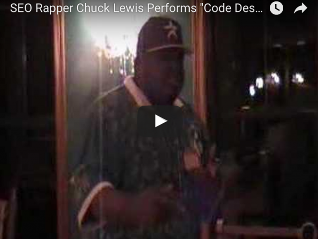 SEO Rapper Chuck Lewis Performs Design Coding at Unleashed