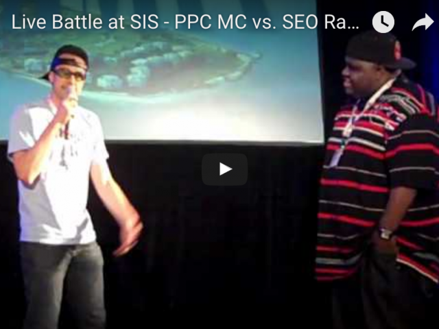 SEO Rapper vs PPC MC