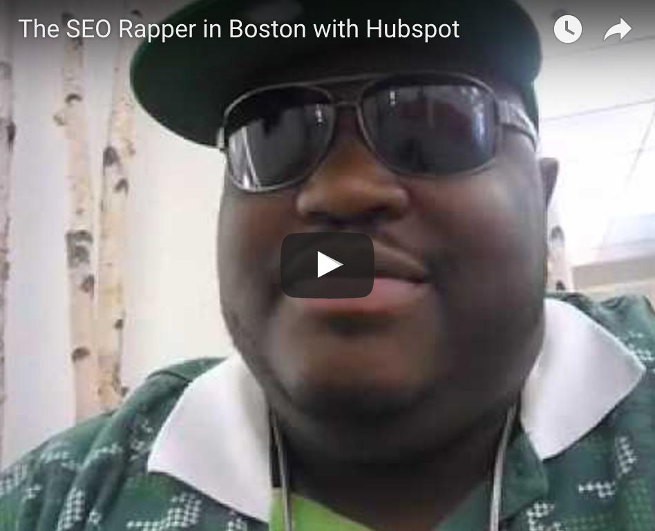 The SEO Rapper in Boston Visiting Hubspot The SEO Rapper