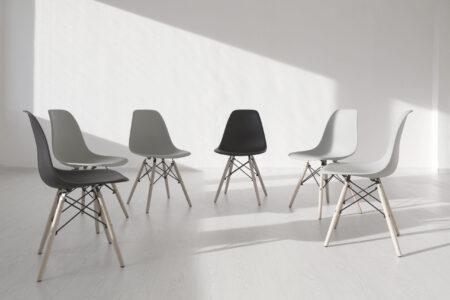 Rehab - chairs white room