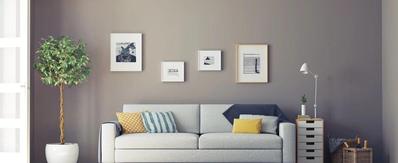 warm looking living room