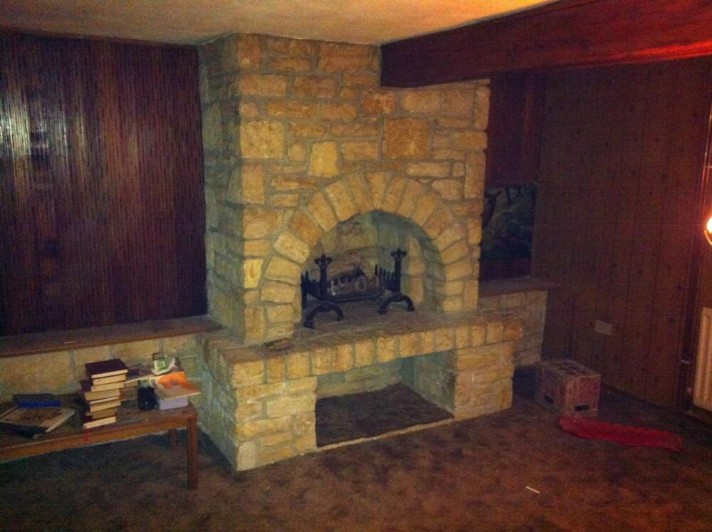 Fire place - Before