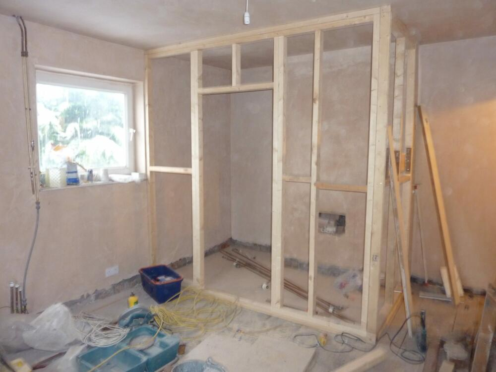 Bedroom Ensuite - Work in Progress