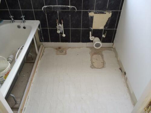 Bathroom - Work In Progress
