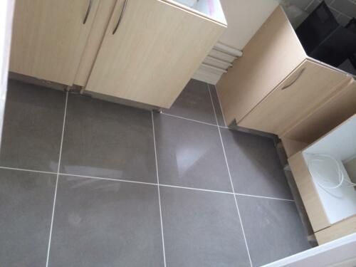 Kitchen Floor - After