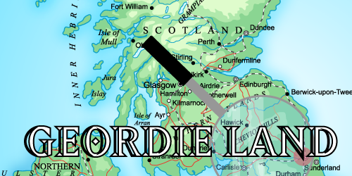 The Geordie dialect