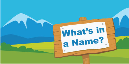 Mountain Names