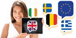 english speaking eu countries