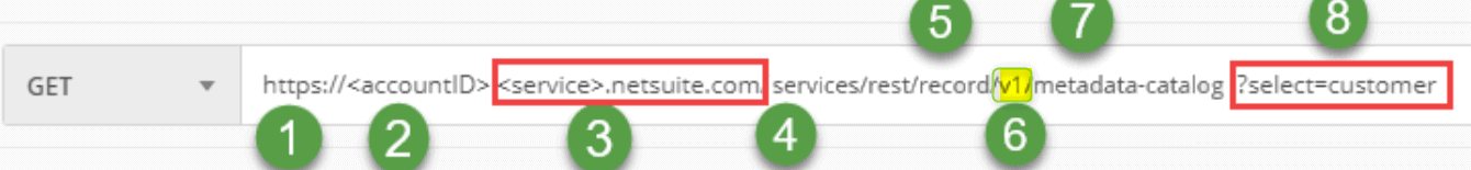 NetSuite - Rest URL sample