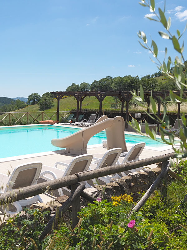 POOL AT UMBRIA WITH KIDS