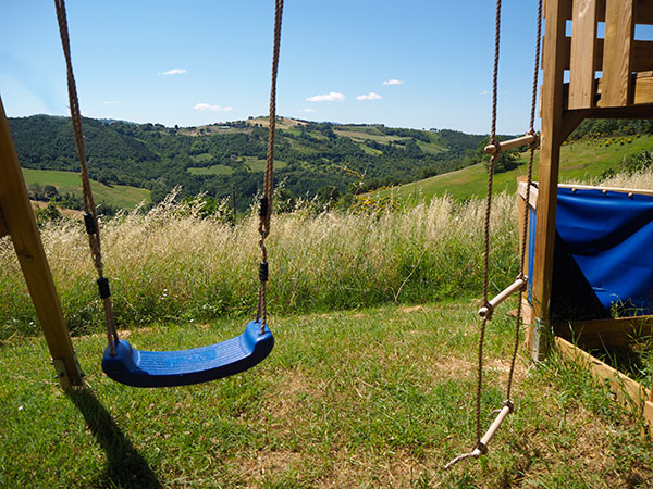 PLAYGROUND AT PIAN DI CASCINA FAMILY HOLIDAYS