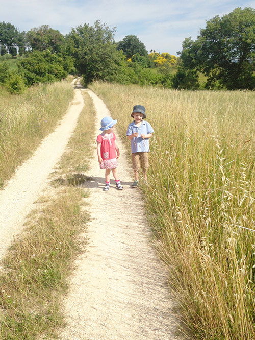 KIDS AT PIAN DI CASCINA FAMILY HOLIDAY RETREAT