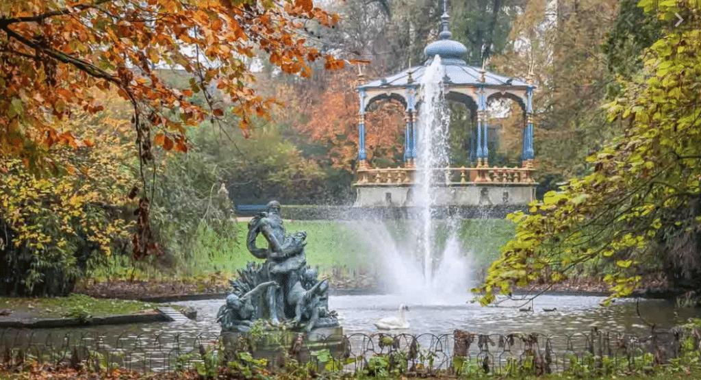 Koningin Astridpark-brugge-gezilecek-yerler