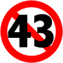 stop 43 logo