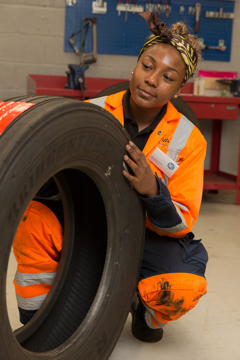 07/06/2016 IRTE Skills Challenge 2016 held at S&B Automotive Academy Limited, Bristol. Arriva UK Bus, Chenique Cawley. Photo © Tim Gander 2016. All rights reserved.