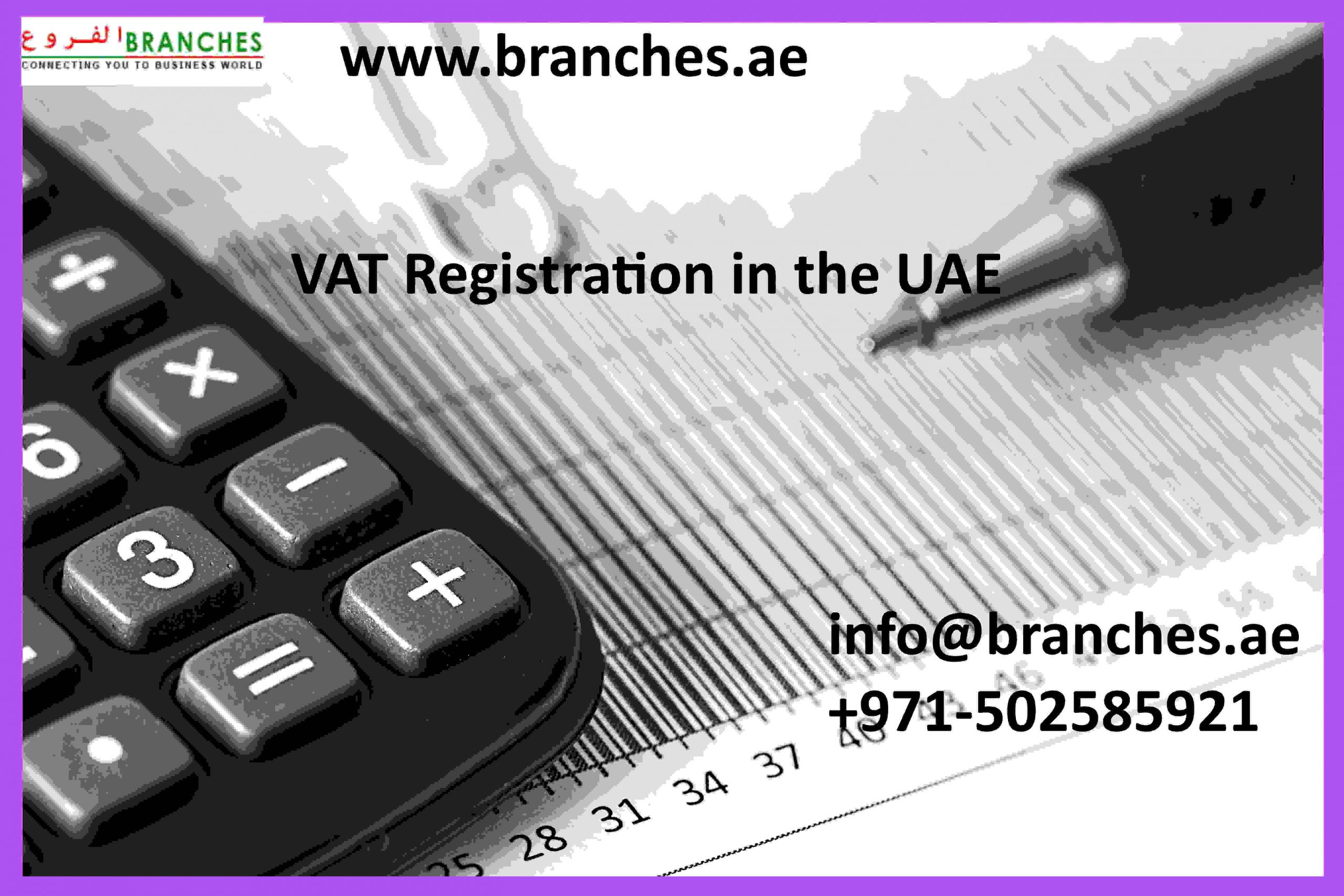 VAT Registration in the UAE