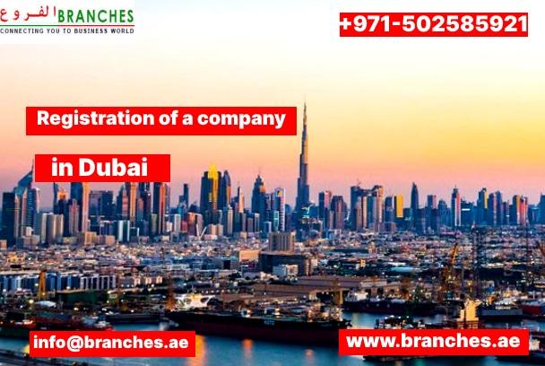 Registration of a Company in Dubai