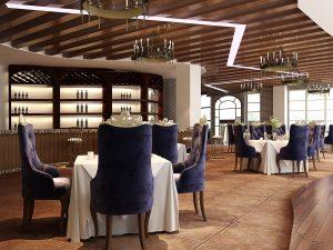 Restaurant setup in Dubai