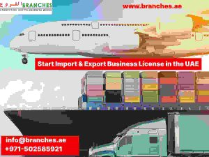 Dubai import and export business license