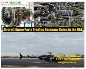 Aircraft Spare Parts Trading Company Setup in  UAE