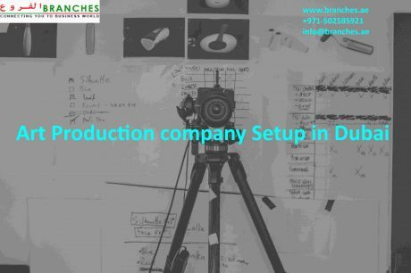 Art Production company Setup in Dubai