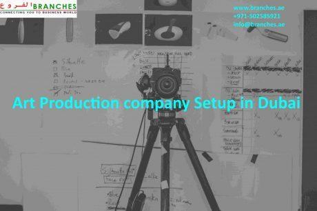 Art Production company Setup in Dubai