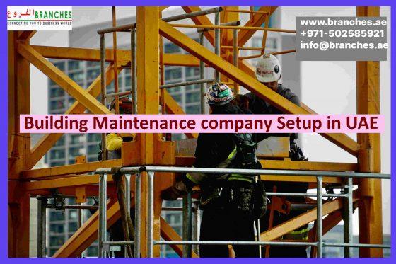 Building Maintenance company Setup in UAE