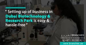 Dubai Biotechnology and Research Freezone