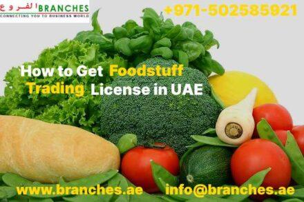 Foodstuff Trading License in UAE
