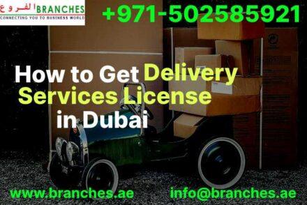 Delivery Services License in Dubai