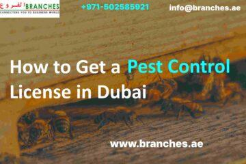 Pest Control License in Dubai