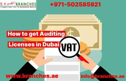 Auditing Licenses in Dubai