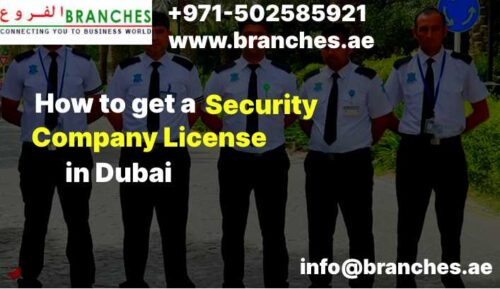 Security Company License in Dubai