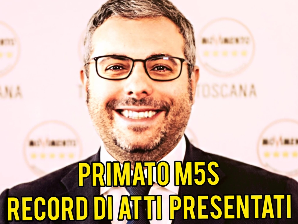 RECORD ATTI PRESENTATI GIACOMO GIANNARELLI