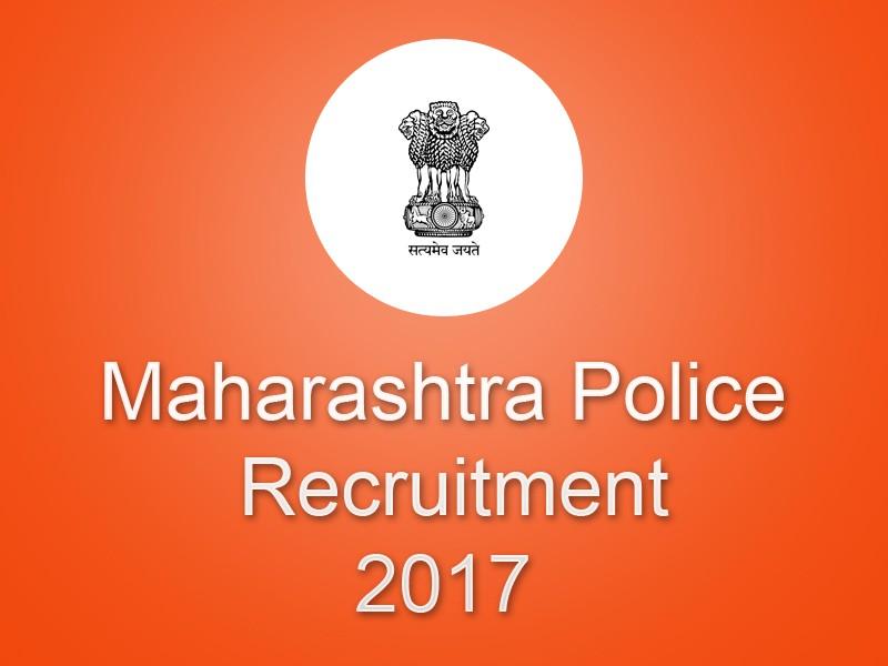 Maharashtra Police constables Recruitment 2017 Apply Online