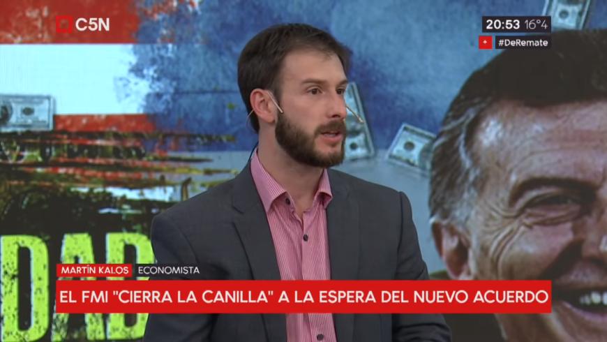 [:es]Martín Kalos en C5N sobre dolarización y política cambiaria[:]