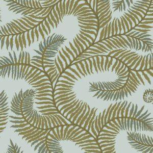 Designer Ferns Wallpaper | Olive & Celadon