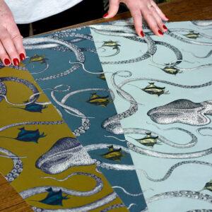 Josephine Munsey | Bespoke Design | Customer Colours | Octopoda