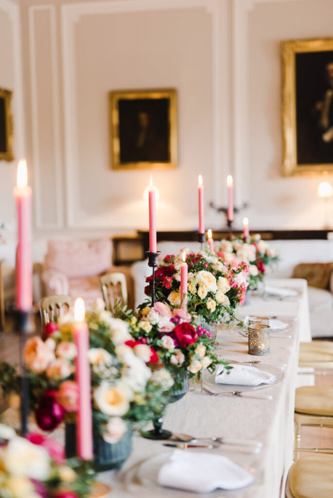 Floristry by Kate Wren Flowers, with photography by Emma Pilkington Photography