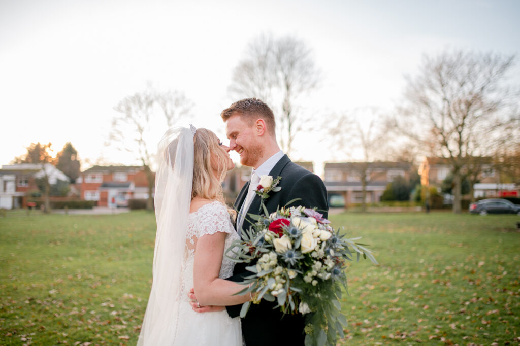 Winter wedding at St Marys Church in Shephall, Stevenage. With second shooting by Ellen Forster Photography, for Nikki's moments.