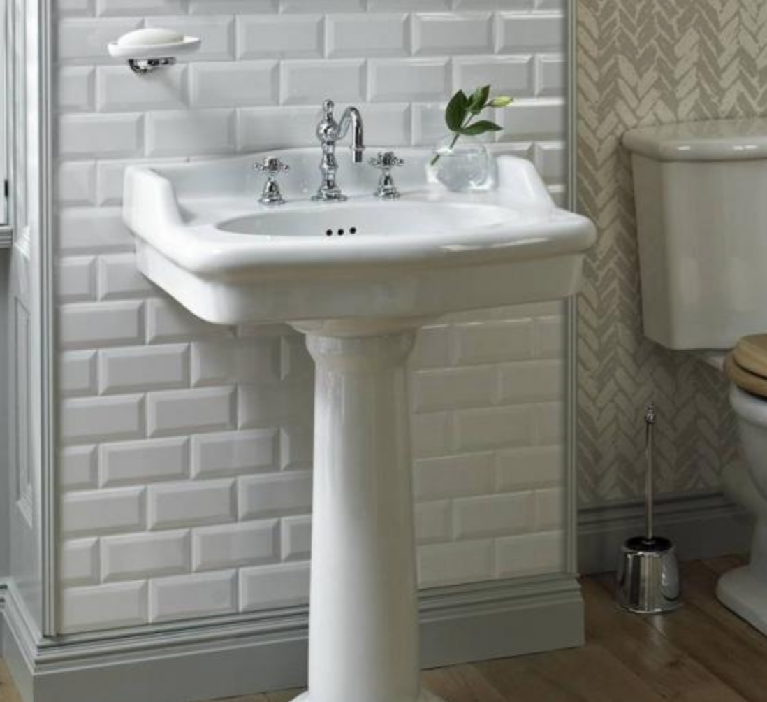 traditional bathroom basin
