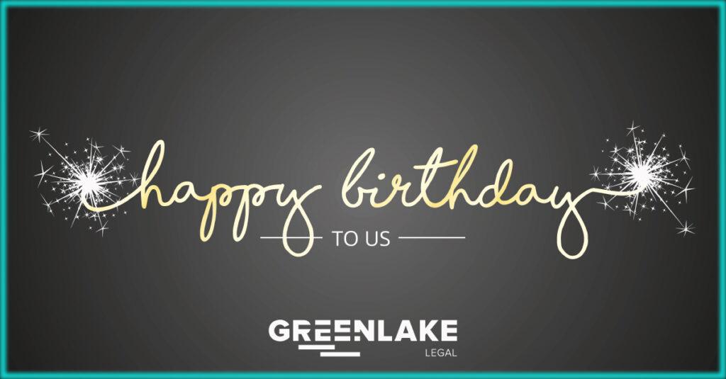 Happy 3rd Birthday to Greenlake Legal