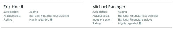 Greenlake Legal - IFLR1000 Ranking Restructuring & Insolvency - Highly Regarded Lawyers