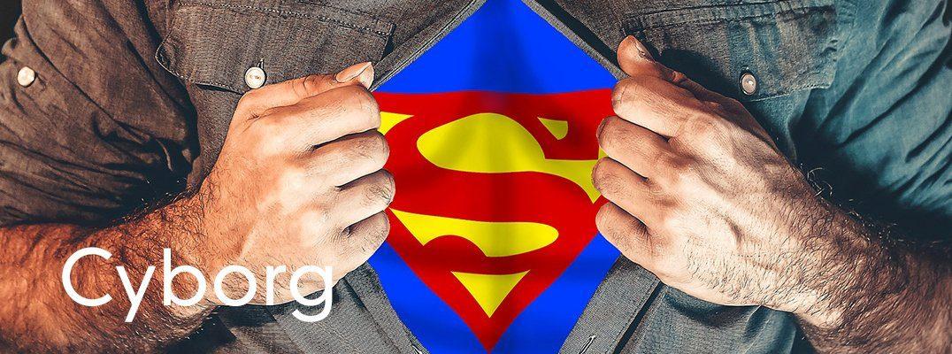 cyborg superhero or disabled
