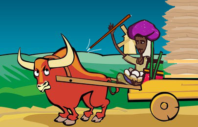 The problem with 'bull cart driver with a needle stick' leadership