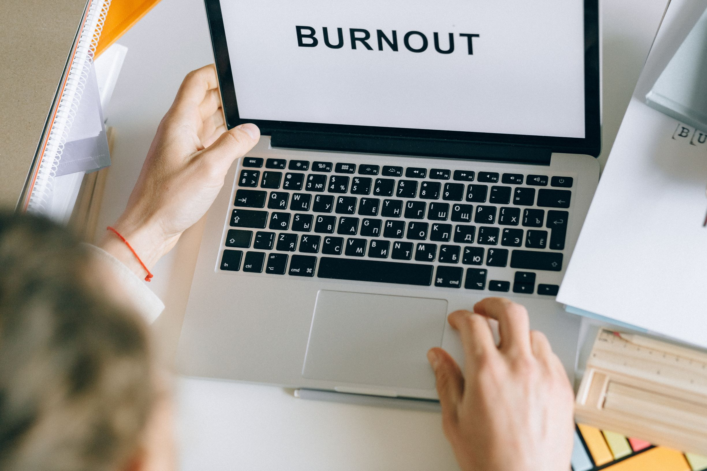 My end of year report? B for burnout!