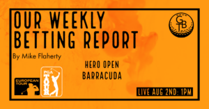 Read more about the article Hero Open and the Barracuda Betting Report