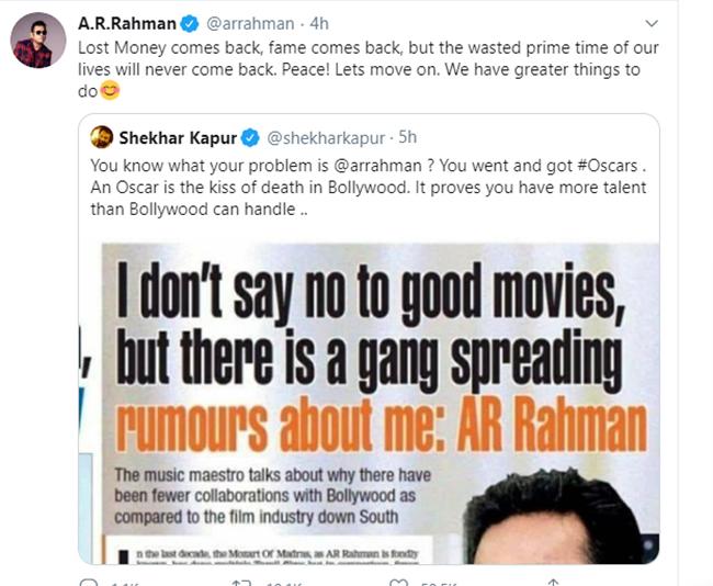 AR Rahman Tweet 3